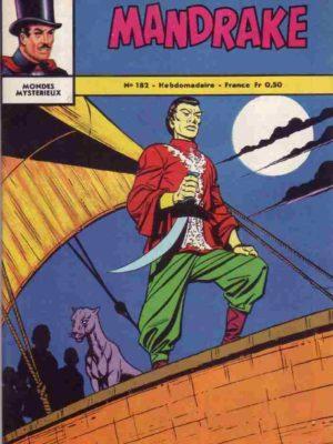 MANDRAKE N°182 Les pirates – Remparts 1968