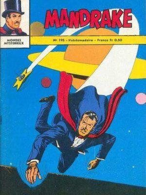 MANDRAKE N°195 Les êtres mystérieux – Remparts 1969