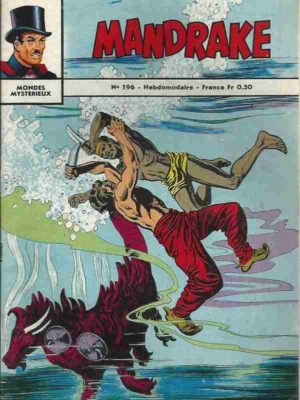MANDRAKE N°196 Voyage dans le passé (1ère partie) Remparts 1969