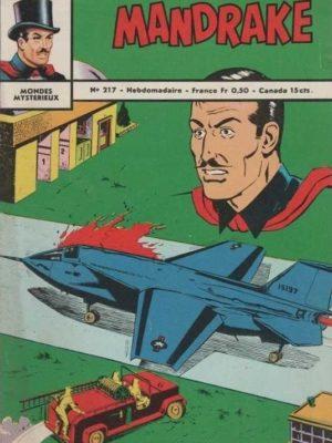 MANDRAKE N°217 Sabotage dans l'espace – Remparts 1969