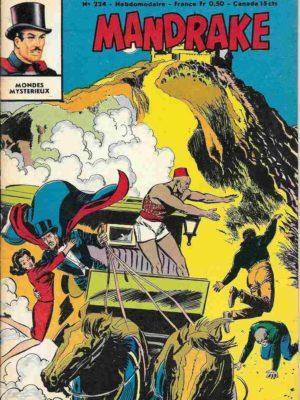 MANDRAKE N°224 Le piège fatal – Remparts 1969