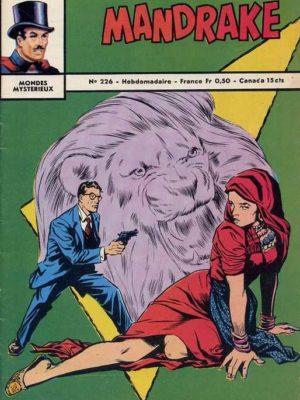 MANDRAKE N°226 Superhommes venus de l'espace (2/4) Remparts 1969