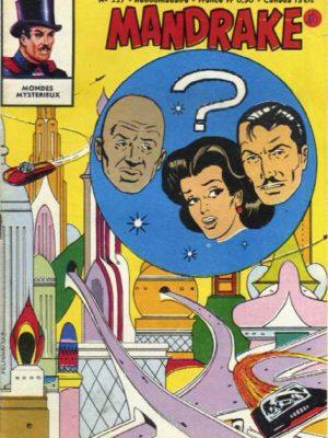 MANDRAKE N°227 Superhommes venus de l'espace (3/4) Remparts 1969