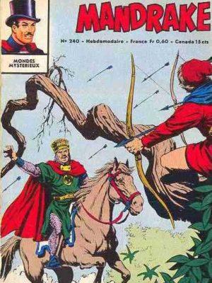 MANDRAKE N°240 Chasse au gangster (2/2) Remparts 1969