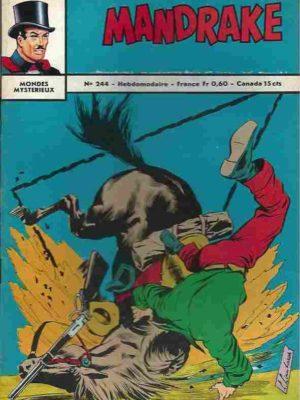 MANDRAKE N°244 Le roi des ténèbres (2/2) Remparts 1969