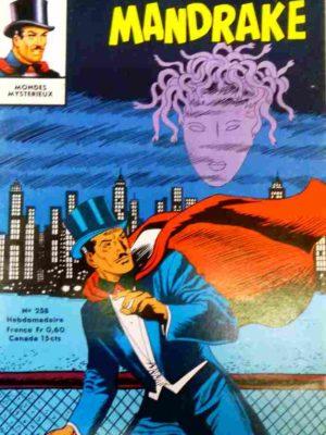 MANDRAKE N°258 Le masque d'argent (2/2) – Remparts 1970