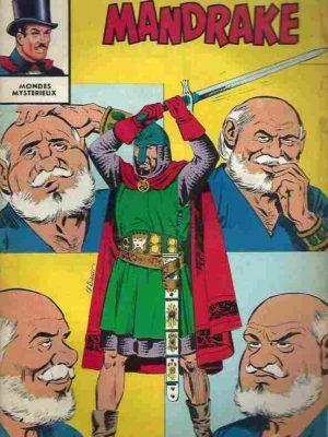 MANDRAKE N°264 Le secret du docteur Oork (2/3) Remparts 1970