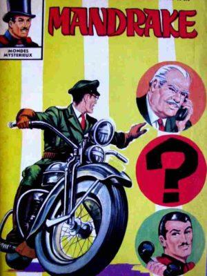 MANDRAKE N°285 L'homme qui n'existait pas (1/2) Remparts 1970