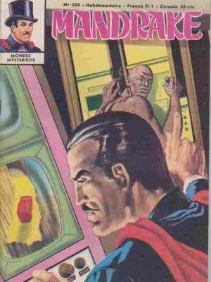 MANDRAKE N°289 Les deux visages du mystère (3/4) Remparts 1970