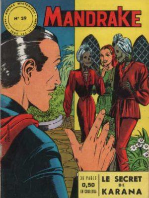 MANDRAKE N°29 Le secret de Karana – Remparts 1964