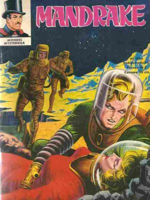 MANDRAKE N°309 Un puzzle compliqué – Remparts 1971