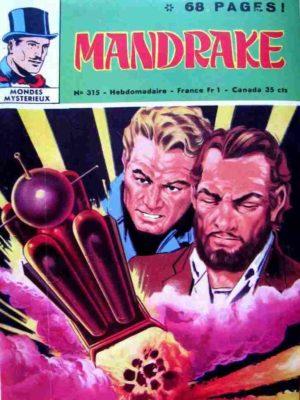 MANDRAKE N°315 Le sinistre jardin de Wouzou – Remparts 1971