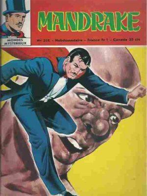 MANDRAKE N°318 Les mangeurs d'or (3/3) Remparts 1971