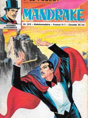 MANDRAKE N°319 La bague maudite – Remparts 1971
