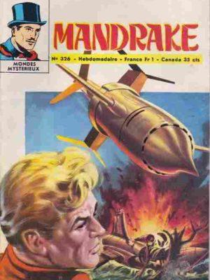 MANDRAKE N°326 Pour aider Anita Morris – Remparts 1971
