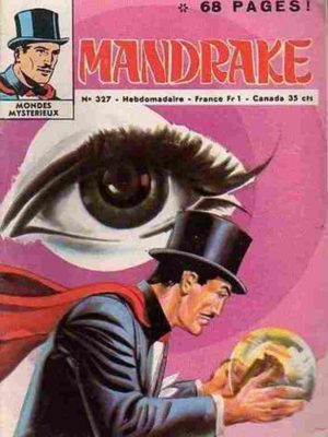 MANDRAKE N°327 Les perles de flamme – Remparts 1971