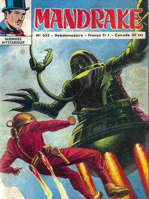 MANDRAKE N°332 Dangereuses sorcières – Remparts 1971