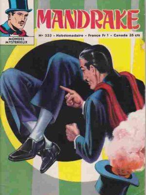 MANDRAKE N°333 Sagai et les hommes-loups – Remparts 1971