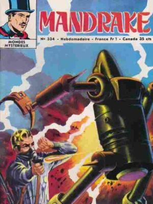 MANDRAKE N°334 Vacances agitées – Remparts 1971