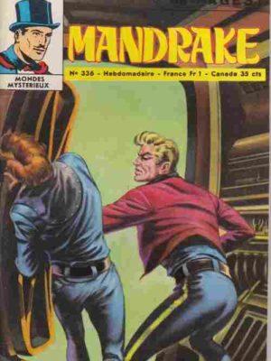 MANDRAKE N°336 Le cow-boy à deux têtes (2/2) Remparts 1971