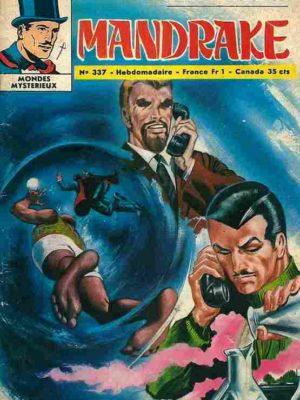 MANDRAKE N°337 Une cachette bien gardée – Remparts 1971