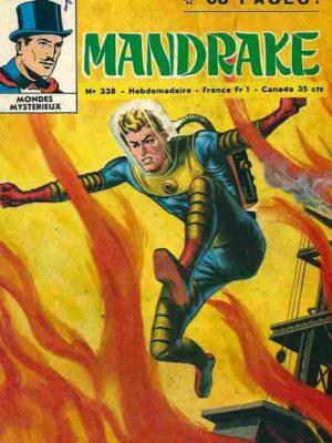 MANDRAKE N°338 Le filet du Cobra – Remparts 1971