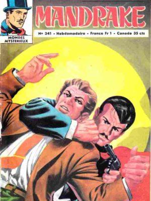 MANDRAKE N°341 La ligne noire (1/2) Remparts 1971