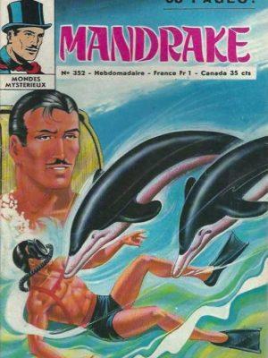 MANDRAKE N°352 Le messager des profondeurs (1/2) Remparts 1972