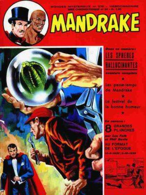 MANDRAKE N°378 Les sphères hallucinantes – Remparts 1972