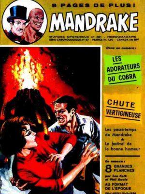MANDRAKE N°381 Les adorateurs du cobra – Remparts 1972