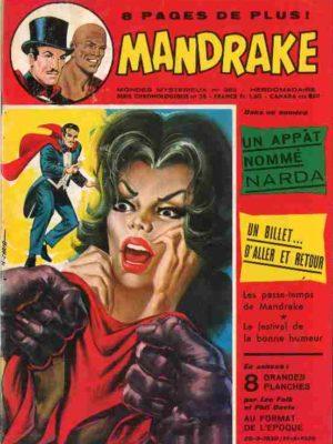 MANDRAKE N°382 Un appât nommé Narda – Remparts 1972