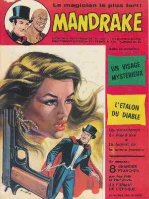 MANDRAKE N°386 Un visage mystérieux – Remparts 1973