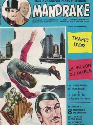 MANDRAKE N°388 Trafic d'or – Remparts 1973