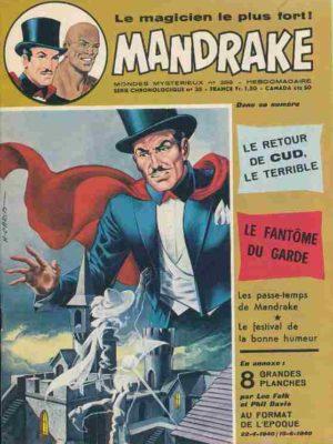MANDRAKE N°389 Le retour de Cud le terrible – Remparts 1973