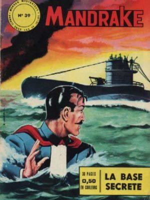 MANDRAKE N°39 La base secrète – Remparts 1964