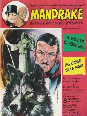 MANDRAKE N°390 La secte des hommes-loups – Remparts 1973