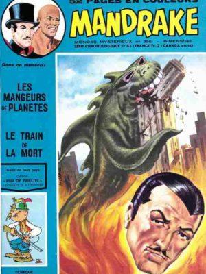 MANDRAKE N°396 Les mangeurs de planètes – Remparts 1973