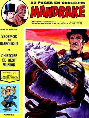 MANDRAKE N°403 Skorpiox le diabolique – Remparts 1973