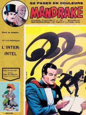 MANDRAKE N°413 L'inter-intel – Remparts 1973