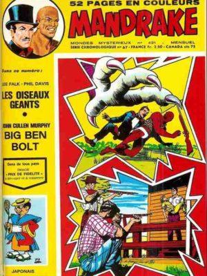 MANDRAKE N°421 Les oiseaux géants – Remparts 1974