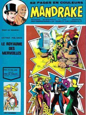 MANDRAKE N°422 Le royaume des merveilles – Remparts 1974