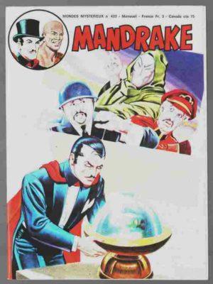 MANDRAKE N°433 L'épuisante lutte – Remparts 1977