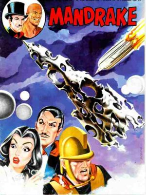 MANDRAKE N°434 Attaque dans la galaxie – Remparts 1977