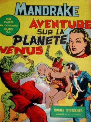 MANDRAKE N°6 Aventure sur la planète Vénus – Remparts 1962