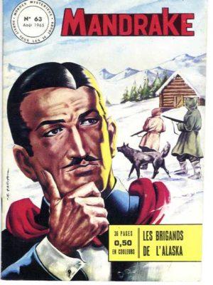 MANDRAKE N°63 Les brigands de l'Alaska – Remparts 1965