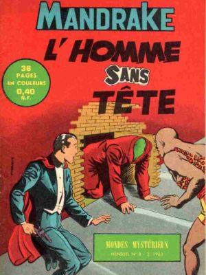 MANDRAKE N°8 L'homme sans tête – Remparts 1963