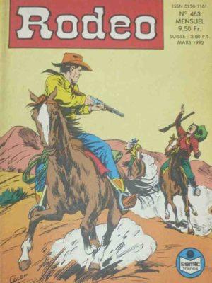RODEO N°463 – TEX WILLER – Le secret de la Sierra Madre (fin) LUG 1990