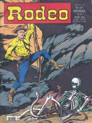 RODEO N°511 – TEX WILLER – La mine de la peur (3e partie) LUG 1994
