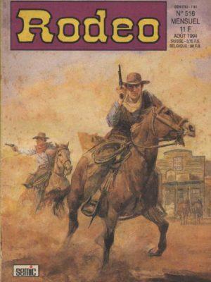 RODEO N°516 – TEX WILLER – Mort sur le fleuve (1e partie) LUG 1994