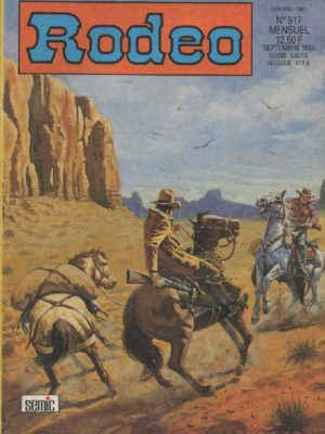 RODEO N°517 – TEX WILLER – Mort sur le fleuve (2e partie) LUG 1994